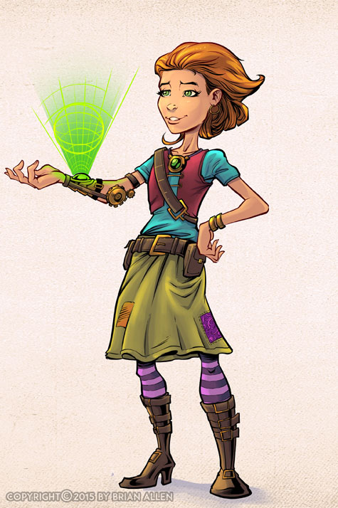 Character Design Hire : Professional freelance illustrator for hire light