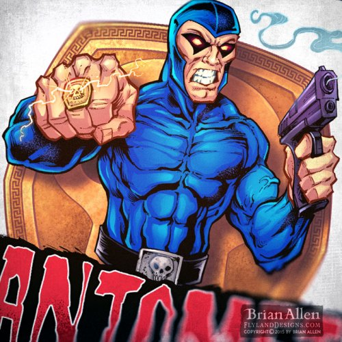 The Phantom logo design for Russ