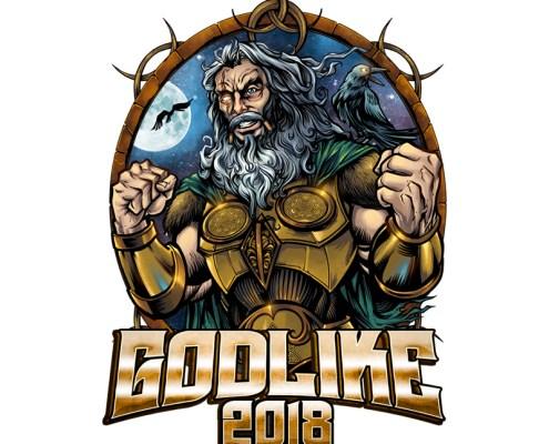 Norse mythology god inspired cha