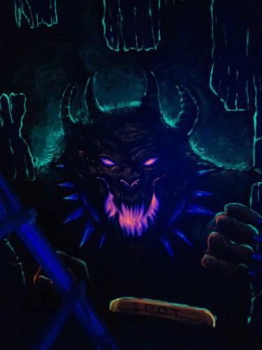 Blacklight hellhound