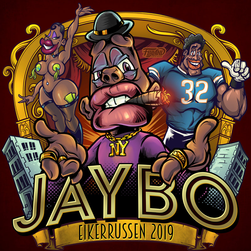 Jabybo is baised off the Jay Z m
