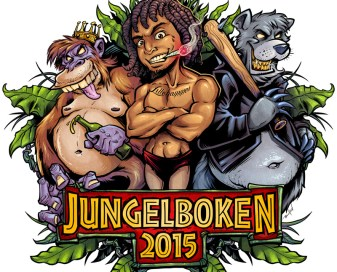 Russebuss Jungle Book Parody Logo