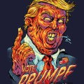 parody t-shirt illustration of d