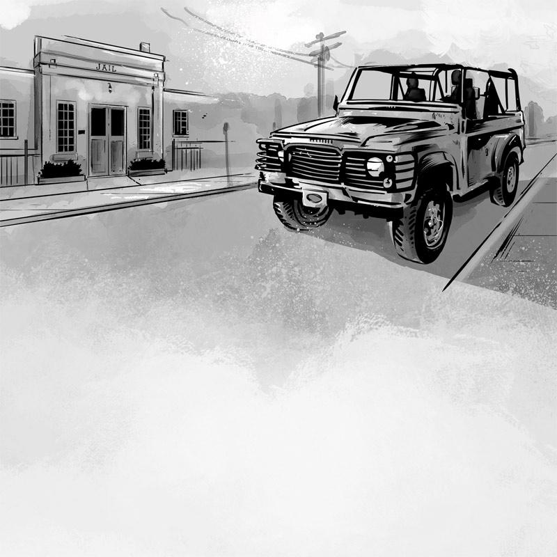 Illustrations for a novel I crea