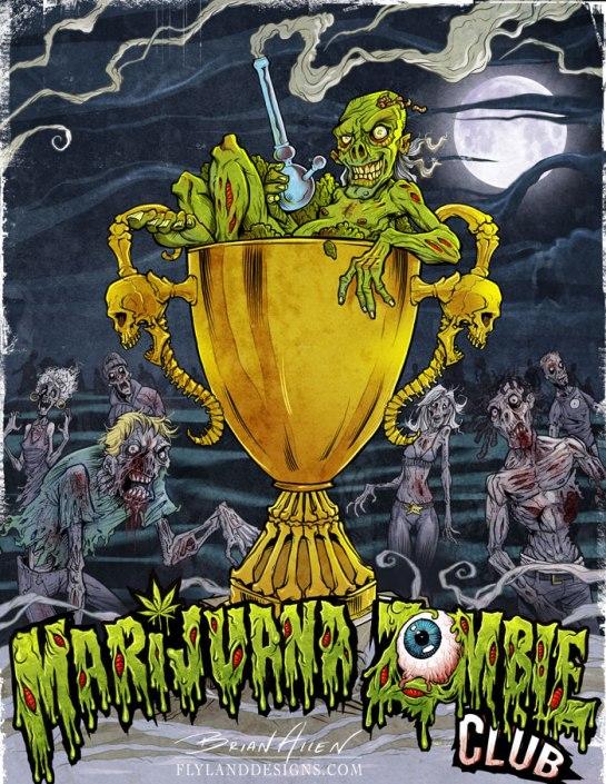 Marijuana Zombie Club