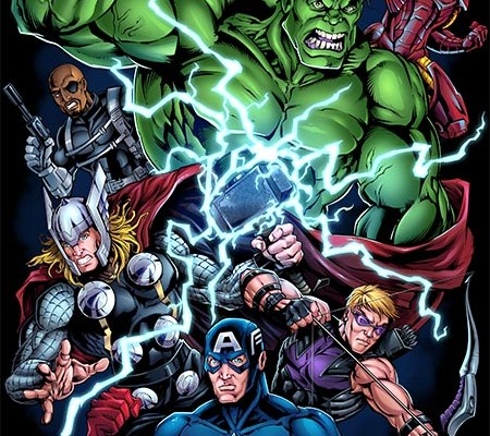 Marvel superhero characters hulk