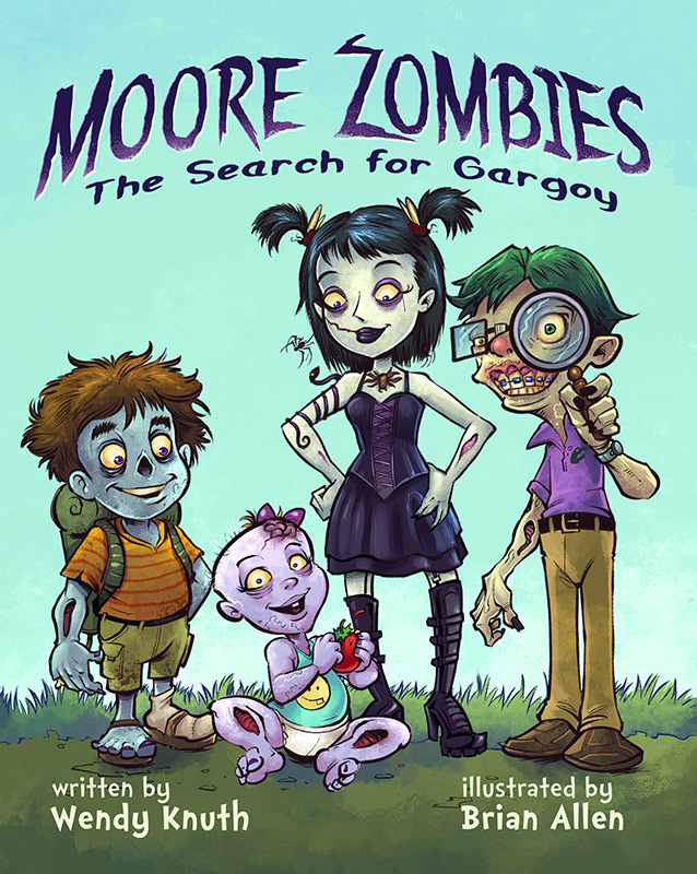 moore zombies flyland designs freelance illustration and graphic