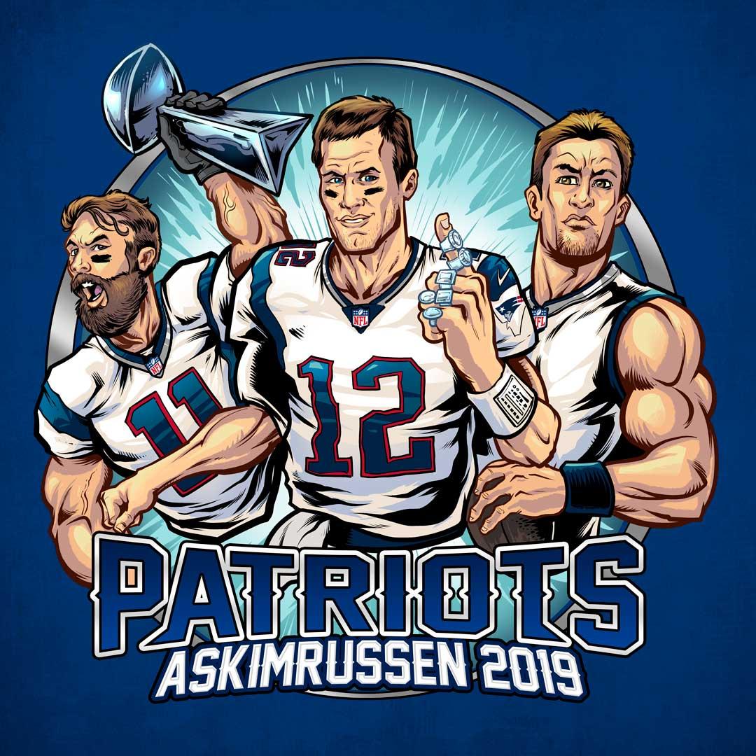 patriots football team members w