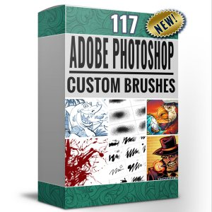 Images of custom photoshop brush