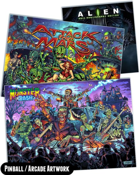 Pinball and Arcade Artwork