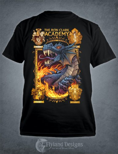 Dragon Mascot T-Shirt for Academy