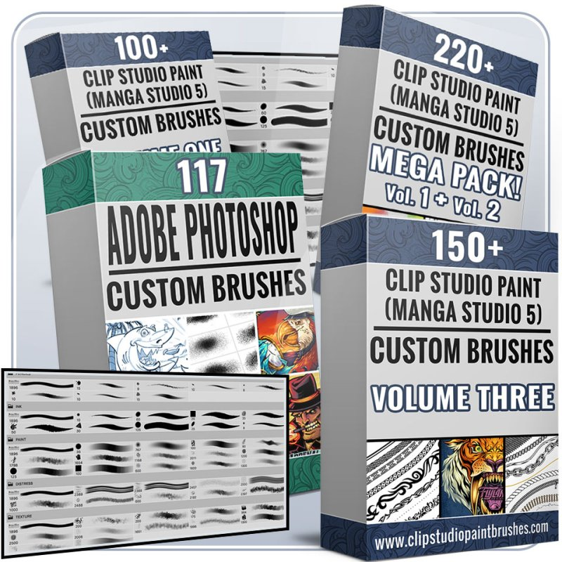 Brushes, Textures, and Presets