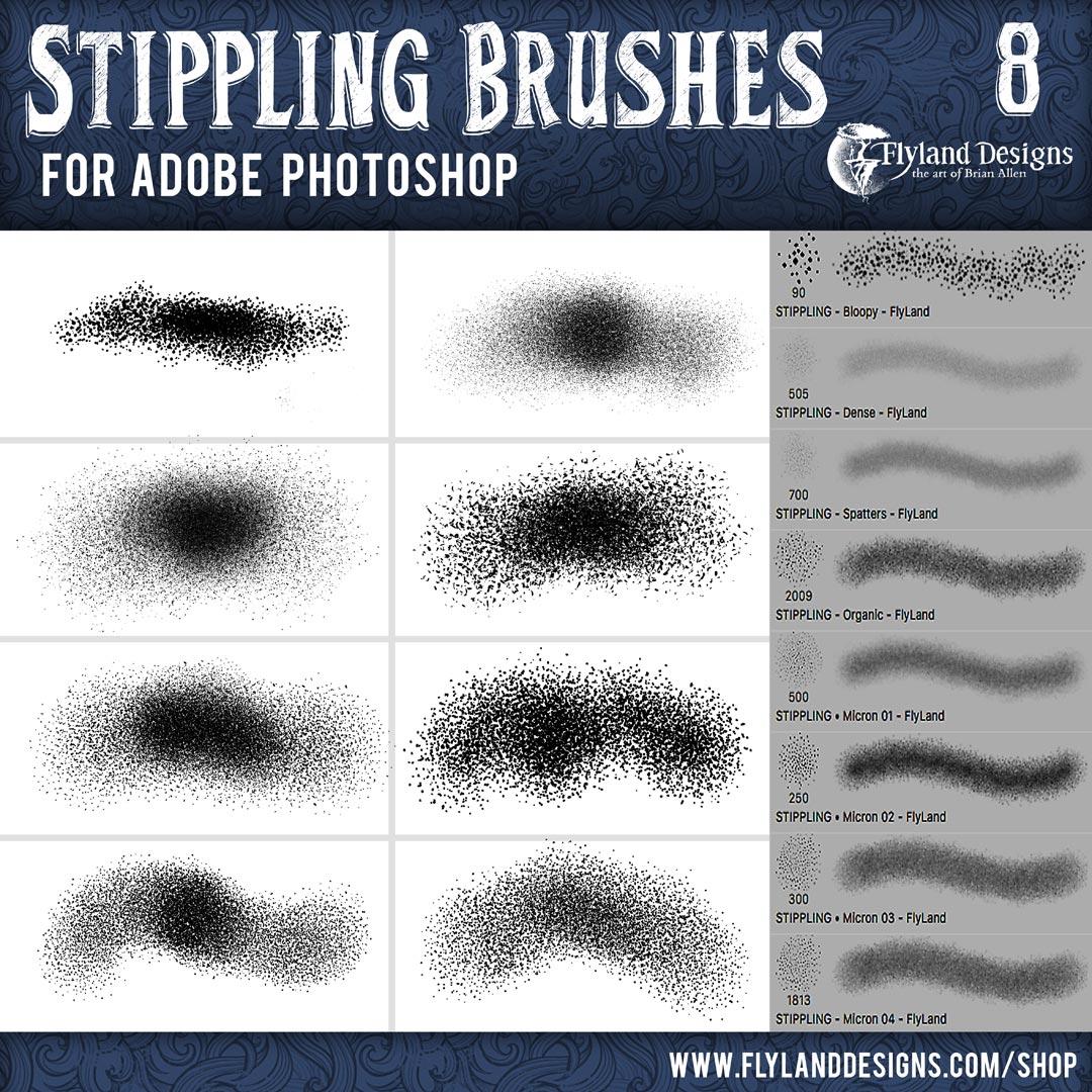 Custom Adobe Photoshop Brushes By Freelance Artist Brian