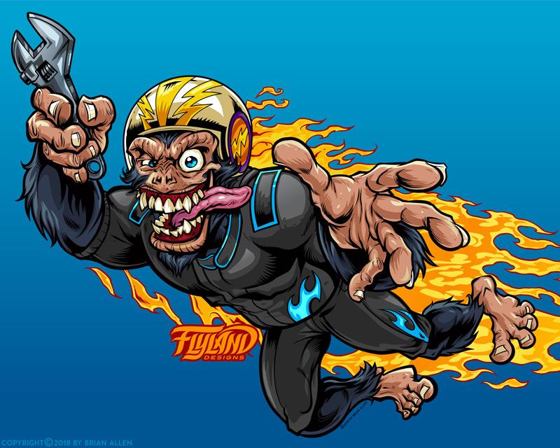 Stuntman Monkey Racer