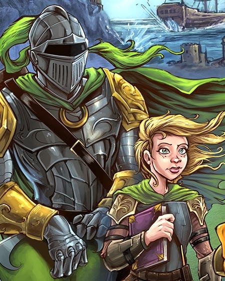 The Green Knight Book Cover Illu