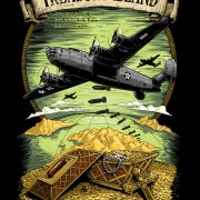 T-Shirt Illustration of famous WWII air battles