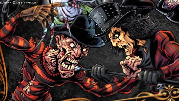 Freddy Vs. Alice Cooper Character Design