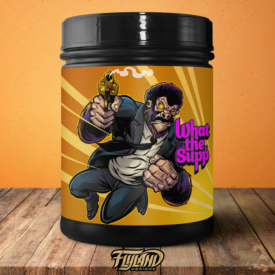 Supplement Packaging Characters
