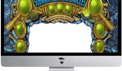 Website template design for fantasy blog