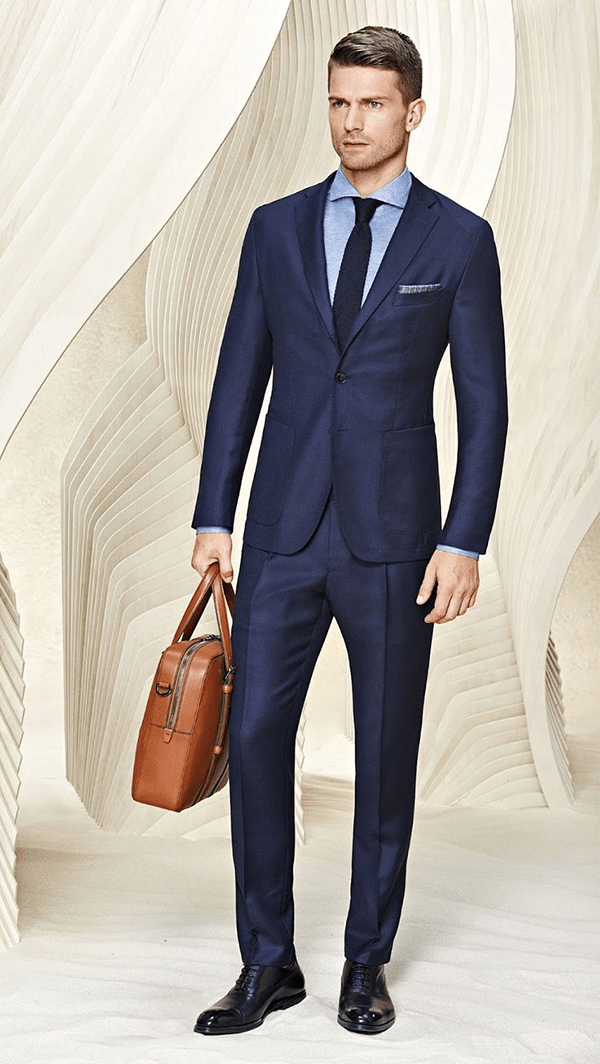 Formal Suiting European Style
