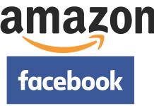 Amazon, Facebook