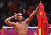 lin dan china