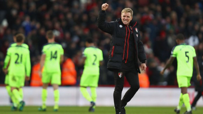 Wenger praised Bournemouth manager Eddie Howe for taking the chance given to him
