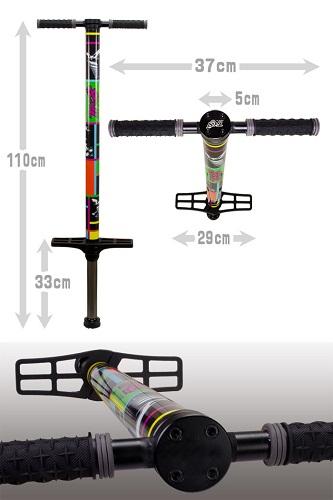 Dimension of pogo stick