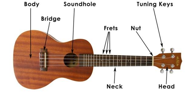 uke parts