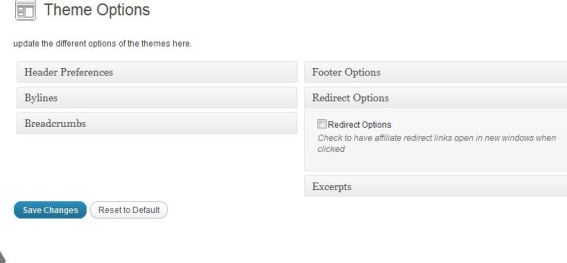 Redirect Options