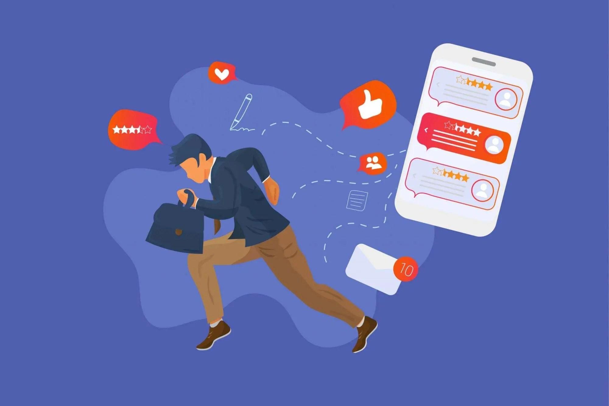 social media brands