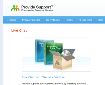 provide support chat