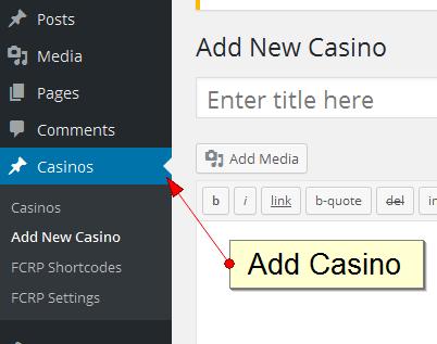 Adding casino here