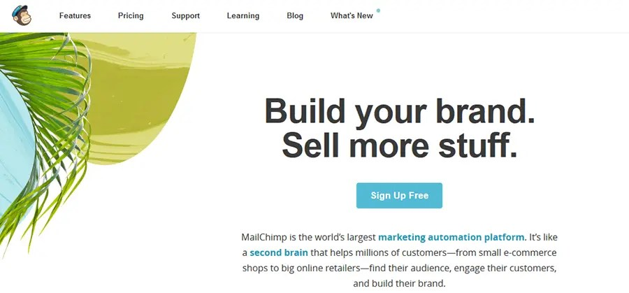 mailchimp email marketing for affiliates