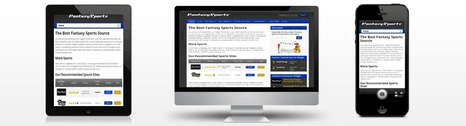 fantasy sports theme