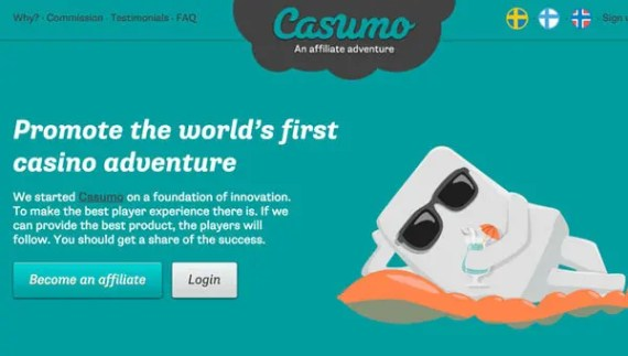 affiliate casino first program
