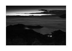 Sonnenuntergang bei Lukovo (Kroatien) || Foto: © Ulf Cronenberg, Würzburg