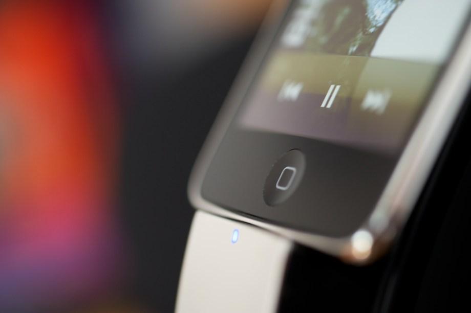 Makro-Aufnahmen von Apple-Gadgets