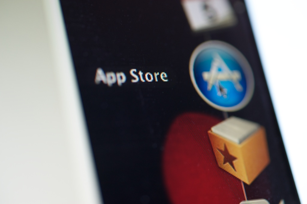 App-Store-Icon im Dock // © Ulf Cronenberg, Würzburg