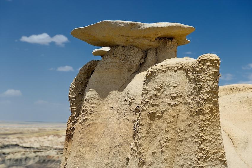 USA-Urlaub (2)– Bisti Badlands, New Mexico
