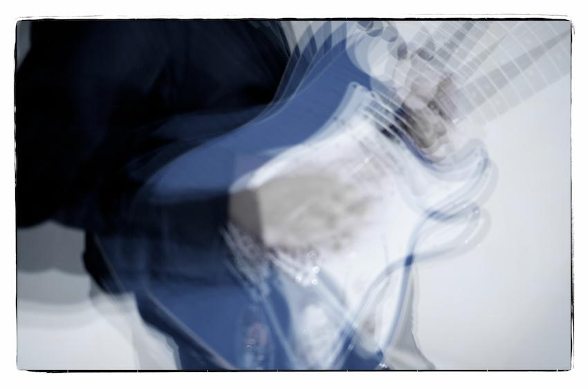 Gitarrenbilder mit Stroboskop