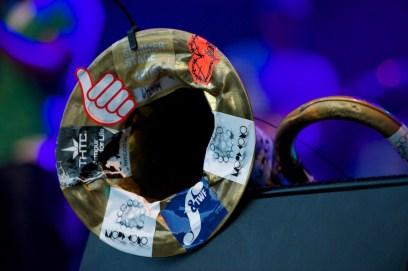 Hypnotic Brass Ensemble, Würzburger Hafensommer 2014 // Foto: © Ulf Cronenberg