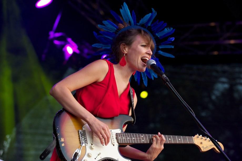 Monika Roscher Bigband– Konzertfotos Würzburger Hafensommer 2013