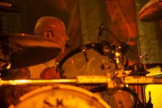 Schlagzeuger Russell Gilbrook von Uriah Heep || Foto: © Ulf Cronenberg, Würzburg