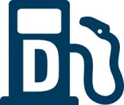 Dieselpump, reklam för dieseltillägg,