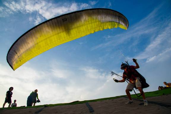 paragliding, flywithxirli, barcelona