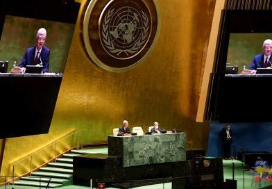 La pandemia, el choque EEUU-China e Irán marcan la Asamblea de la ONU