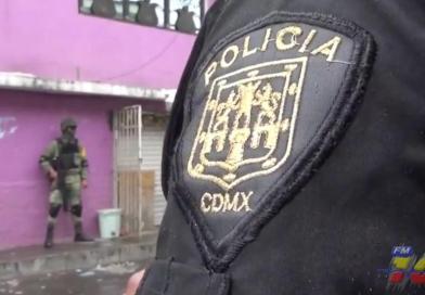 Aseguran 600 dosis de drogas y 15 personas en la alcaldía Azcapotzalco