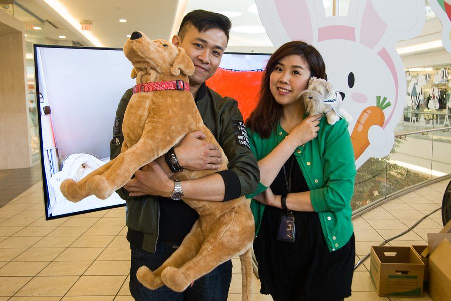 加拿大中文電臺愛護動物週 - 名人 DJ 愛心曲奇義賣 加拿大中文電臺 AM1470 FM96.1