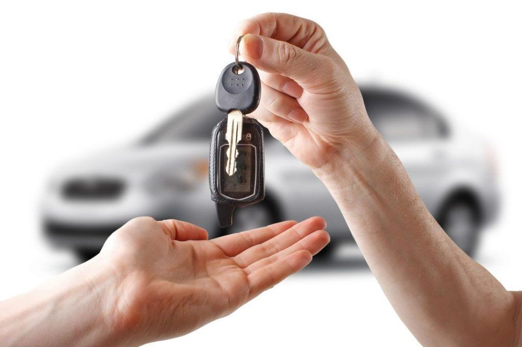 derecho a coche de sustitución por accidente de tráfico